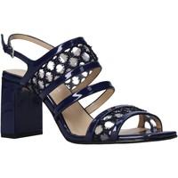 Chaussures Femme Sandales et Nu-pieds Apepazza S0MONDRIAN08/PAT Bleu