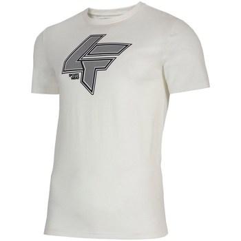 Vêtements Homme T-shirts manches courtes 4F TSM010 Blanc