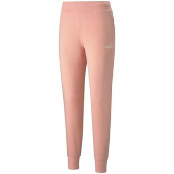 Vêtements Femme Pantalons de survêtement Puma Essential Logo Rose
