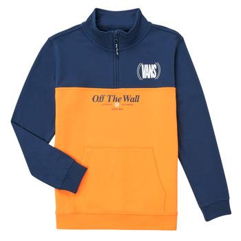 Vêtements Fille Sweats Vans SOLAL Bleu / Jaune