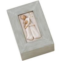 Maison & Déco Paniers, boites et corbeilles Willow Tree Boite de collection  - Mère et Fille Gris