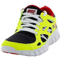 Chaussures Enfant Baskets basses Nike Free Run 2 Junior - Ref. 443742-067 Noir