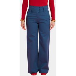 Vêtements Femme Pantalons Haut Large Oasis Pantalon Large Granito INDIGO