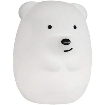 Maison & Déco Lampes de bureau Lumisky Veilleuse bébé ours touch TEDDY blanc