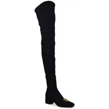 Chaussures Femme Cuissardes Balmain  Noir