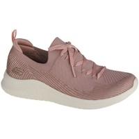 Chaussures Femme Baskets basses Skechers Ultra Flex 20LASER Focus Rose