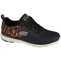 Chaussures Femme Baskets basses Skechers Flex Appeal 30 Noir