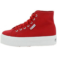 Chaussures Femme Baskets montantes Superga Basket Rouge