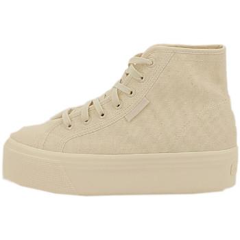 Chaussures Femme Baskets montantes Superga Basket Beige
