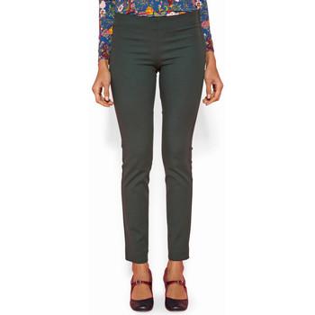 Vêtements Femme Pantalons Haut Large Oasis Pantalon Ajuste Granito VERT