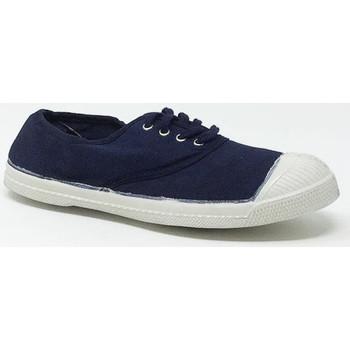 Chaussures Baskets basses Bensimon LACET MARINE Bleu