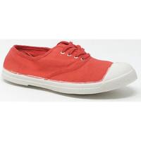 Chaussures Baskets basses Bensimon LACET COQUELICOT Rouge