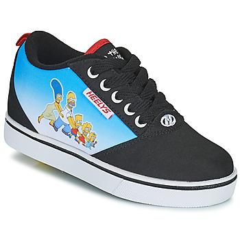 Chaussures Enfant Chaussures à roulettes Heelys PRO 20 PRINTS Noir / Bleu / Multicolore