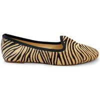 Chaussures Femme Mocassins Ballerette SABA145-004-050 Zèbre