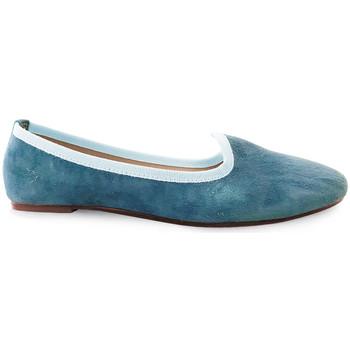 Chaussures Femme Mocassins Ballerette SABA015-003-050 Bleu clair