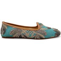 Chaussures Femme Mocassins Ballerette SABA092-054-334 Bleu clair