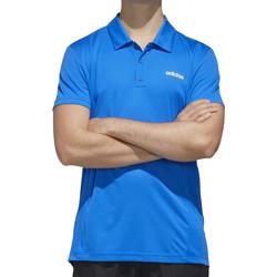 Vêtements Homme Polos manches courtes adidas Originals FL0334 Bleu