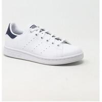 Chaussures Baskets basses adidas Originals STAN SMITH J BLANC Blanc