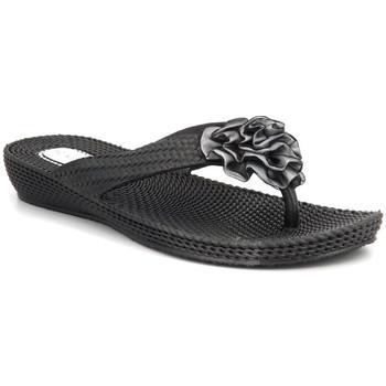 Chaussures Femme Tongs Kelara K62017 Noir