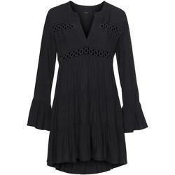Vêtements Femme Robes courtes Lascana Tunique estivale chemisier Lola Noir