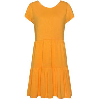 Vêtements Femme Robes Lascana Robe estivale manches courtes Ranunkel Jaune