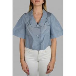 Vêtements Femme Chemises / Chemisiers Prada Haut Bleu