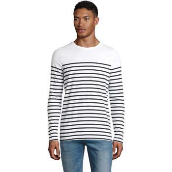 Vêtements Homme Toutes les catégories Sols Matelot camiseta hombre manga larga Blanco