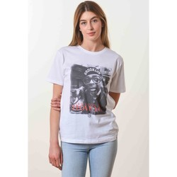 Vêtements T-shirts manches courtes French Dude I Just Called Blanc