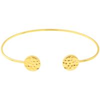 Montres & Bijoux Femme Bracelets Yucatan Jonc  en Plaqué Or Jaune