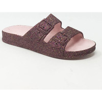 Chaussures Femme Mules Cacatoès TRANCOSO GLITTER PINK MULTICO Rose