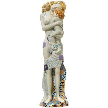 Maison & Déco Statuettes et figurines Muzeum Statuette Klimt - Les trois phases de la vie de la femme Beige