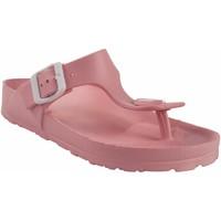 Chaussures Femme Tongs Kelara Dame de plage  K12018 rose Rose
