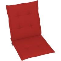 Maison & Déco Galettes de chaise VidaXL Coussin de chaise de jardin 100 x 50 x 4 cm Rouge