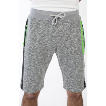 Vêtements Homme Shorts / Bermudas Geographical Norway Short Plashburn pour homme Gris cendre