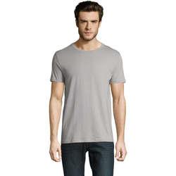 Vêtements Homme T-shirts manches courtes Sols CAMISETA DE MANGA CORTA Gris