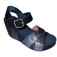 Chaussures Femme Sandales et Nu-pieds Kaola 6130 BLEU METAL