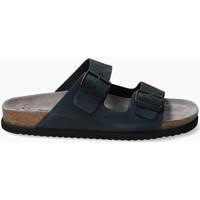 Chaussures Sandales et Nu-pieds Mephisto Sandales cuir NERIO Bleu