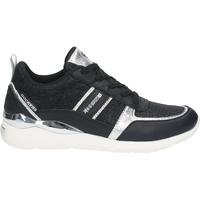 Chaussures Femme Baskets basses Dockers Sneaker Schwarz/Silber