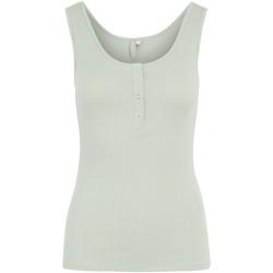 Vêtements Femme Débardeurs / T-shirts sans manche Pieces 17101438 vert