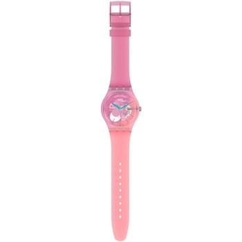 Montres & Bijoux Femme Montres Analogiques Swatch Montre femme  Supercharged Pinks Rose