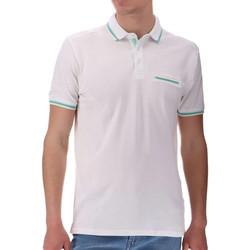 Vêtements Homme Polos manches courtes Sun Valley SV-BENGAL Blanc