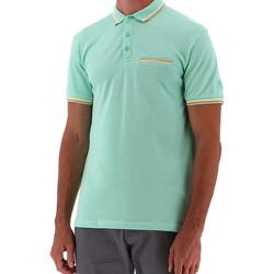 Vêtements Homme Polos manches courtes Sun Valley SV-BENGAL Vert