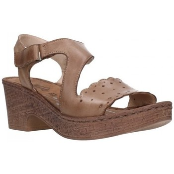 Chaussures Femme Sandales et Nu-pieds Walk & Fly 6546 43940 Mujer Taupe marron