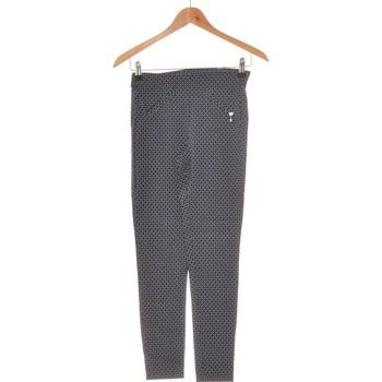 Vêtements Femme Pantalons Rinascimento Pantalon Slim Femme  36 - T1 - S Bleu