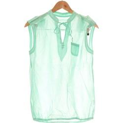 Vêtements Femme Débardeurs / T-shirts sans manche Etam Débardeur  36 - T1 - S Vert