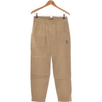 Vêtements Femme Chinos / Carrots Kanabeach Pantalon Droit Femme  36 - T1 - S Vert