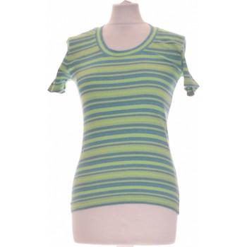 Vêtements Femme Tops / Blouses 1.2.3 Top Manches Courtes  36 - T1 - S Vert