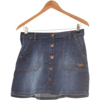 Vêtements Femme Jupes Creeks Jupe Courte  34 - T0 - Xs Bleu