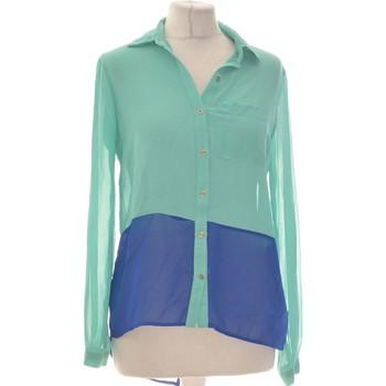 Vêtements Femme Chemises / Chemisiers Forever 21 Chemise  36 - T1 - S Vert
