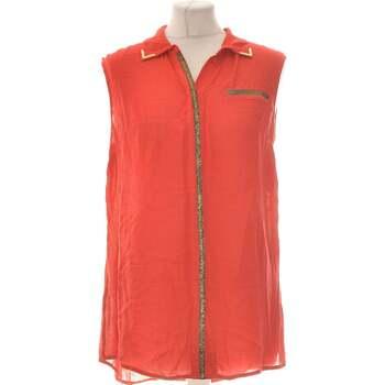 Vêtements Femme Chemises / Chemisiers Sisley Chemise  36 - T1 - S Rouge